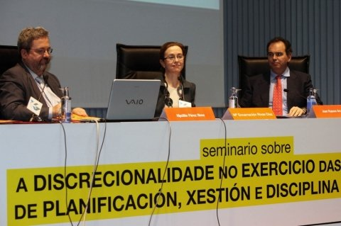 María Encarnación Rivas Díaz, Secretaria Xeral de Ordenación do Territorio e Urbanismo.